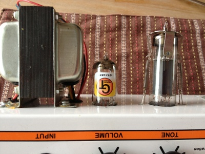 orange ad5 Groove tube